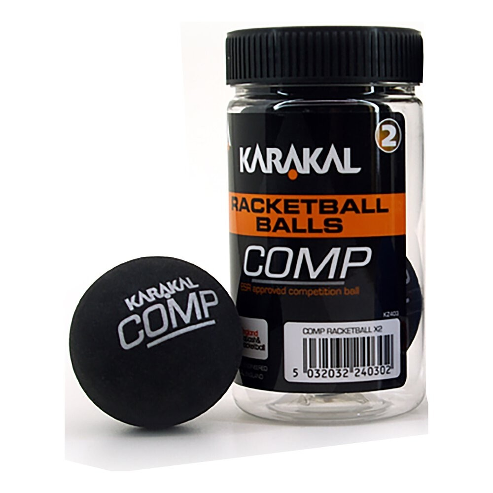 KARAKAL RACKETBALLS - COMPETITION (BLACK)