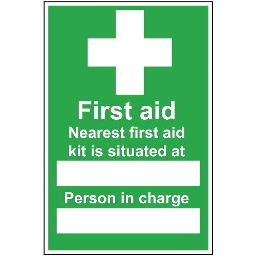 FIRST AID KIT LOCATION / PERSON SIGN (200 x 300mm)