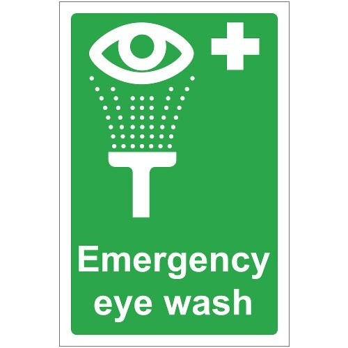 EMERGENCY EYE WASH SIGN (200 x 300mm)
