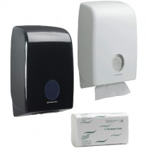 AQUARIUS HAND TOWEL DISPENSERS & SCOTT REFILLS