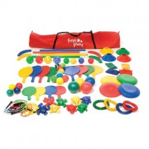 FIRST-PLAY MULTI COLOUR ACTIVITY HOLDALL