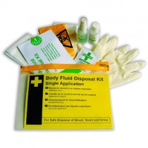 BODY FLUID DISPOSAL KIT - SINGLE