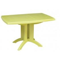 GROSFILLEX VEGA TABLE - LIME GREEN (118 x 77cm)