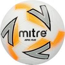 MITRE IMPEL PLUS FOOTBALLS - WHITE