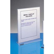 MENU/DISPLAY HOLDER