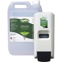 NILAQUA® ALCOHOL-FREE HAND SANITISER & DISPENSER