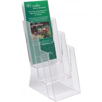 FREE STANDING 3-TIER LEAFLET DISPENSER (⅓ A4)