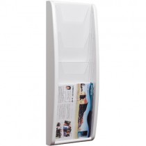 WALL MOUNTED 4-TIER LEAFLET DISPENSER (A5)