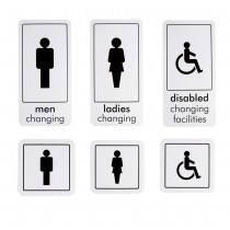 WC / CHANGING ROOM SIGNS