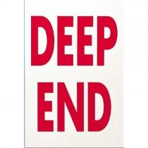 DEEP END SIGN