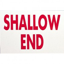 SHALLOW END SIGN