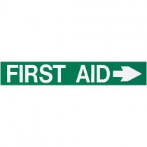 FOAMEX FIRST AID SIGN - RIGHT