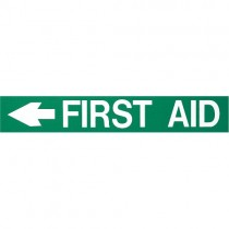 FOAMEX FIRST AID SIGN - LEFT