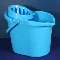 PLASTIC MOP BUCKET - BLUE (14L)