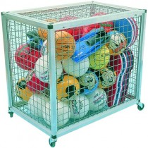 ALUMINIUM MESH EQUIPMENT TROLLEY