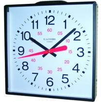 DUAL PURPOSE CLOCK - ENCASED (457mm)