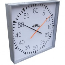 JPL BATTERY PACE CLOCK - ENCASED (610mm)