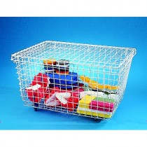 WIRE MESH EQUIPMENT TROLLEY (SMALL)