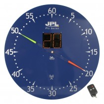 JPL PRO SERIES REMOTE CONTROL HYBRID PACE CLOCK - ELAPSED SECONDS (850mm)