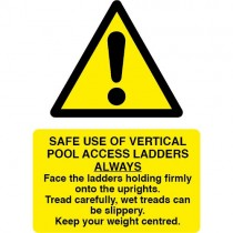SAFE USE OF ACCESS LADDERS SIGN