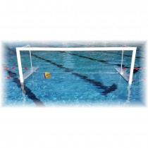 FLOATING FOLD-AWAY WATER POLO GOALS & NETS
