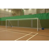 FIVE-A-SIDE WHEELAWAY FOOTBALL GOAL POSTS - STEEL FOLDING