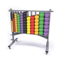 IGNITE STUDIO DUMBBELL STORAGE RACK