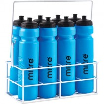 MITRE WATER BOTTLE CARRIER & 8 BOTTLES