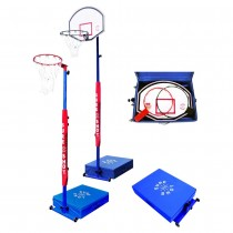 SURE SHOT COMPACT HOOPS COMBI BASKETBALL/NETBALL UNIT