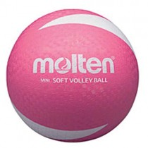 MOLTEN 'SOFT TOUCH' VOLLEYBALL - PINK