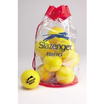 SLAZENGER MINI TENNIS BALLS (SHORTEX RED)