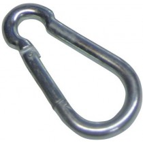 MILD STEEL KARABINER SNAP HOOK