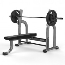 JORDAN OLYMPIC FLAT BENCH - METALLIC GREY