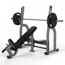 JORDAN OLYMPIC INCLINE BENCH - METALLIC GREY