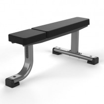 JORDAN FLAT BENCH - METALLIC GREY