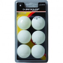 DUNLOP 1 STAR RECREATIONAL TABLE TENNIS BALLS