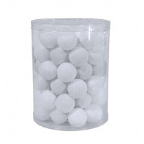 PRACTICE TABLE TENNIS BALLS - WHITE