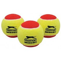 SLAZENGER INTRO TENNIS LC BALLS - BAGS (RED)