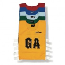 MITRE NETBALL PRO TRAINING BIB SETS (MEDIUM)