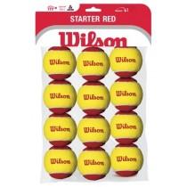 WILSON STARTER TENNIS BALLS - RED