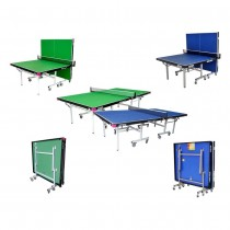 BUTTERFLY NATIONAL LEAGUE ROLLAWAY INDOOR TABLE TENNIS TABLES (22mm)
