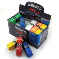 KARAKAL PU SUPER RACKET GRIPS - ASSORTED COLOURS