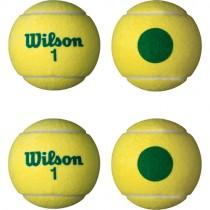 WILSON STARTER TENNIS BALLS - GREEN