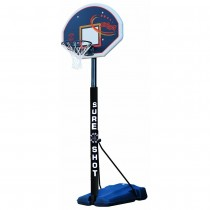 SURE SHOT HEAVY DUTY 520 PORTABLE BASKETBALL UNIT WITH POLE PADDNIG