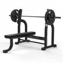 JORDAN OLYMPIC FLAT BENCH - BLACK