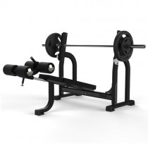 JORDAN OLYMPIC DECLINE BENCH - BLACK