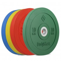 RUBBER BUMPER PLATES - COLOURED