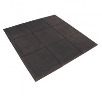 JORDAN ACTIV RUBBER FLOORING - BLACK (15mm)