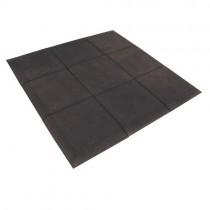 JORDAN ACTIV RUBBER FLOORING - BLACK (30mm)