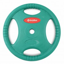 RUBBER RADIAL STUDIO BARBELL DISC (10kg)